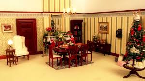 watch this dolls u0027 house decorate itself for christmas youtube