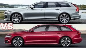 Audi 6 Series Price 2017 Volvo V90 Vs 2017 Audi A6 Avant Exterior Interior U0026 Drive