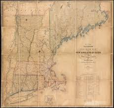 Map Of The New England States by File Williams Telegraph And Rail Road Map Of The New England