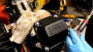 how to change valve cover gasket and cover kohler command ch18