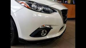 2014 mazda3 aero kit youtube