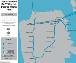 San Francisco Bart Map The Future Of Mobility Desired Mass Transit Bart In Sf Edition