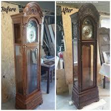 howard miller grandfather clock refinish