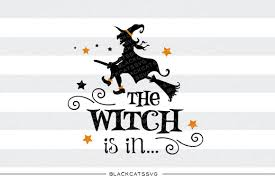 witch silhouette png the witch is in svg file cutting file clipart in svg eps dxf