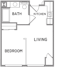 One Room Apartment Floor Plans Sample Floor Plans U2013 Welcome To Legacy Retirement Residence Of Mesa