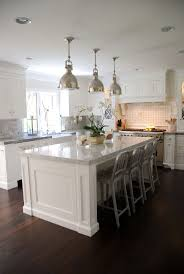 Kitchen Peninsula With Seating by Best 25 Kitchen Island With Stools Ideas On Pinterest