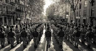 July          Voluntary Law Development Association Military Parade