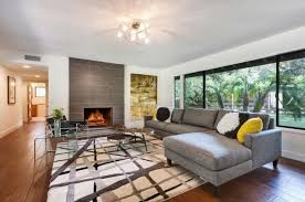 Designing Living Rooms With Fireplaces Living Room Mid Century Modern With Fireplace Fence Bedroom