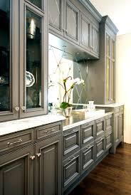 bathroom inspiring stylish and cool gray kitchen cabinets for