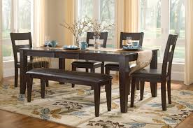 lincoln table with 4 side chairs and bench dock86 spend a good lincoln table with 4 side chairs and bench