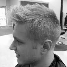 Fohawk Hairstyles Faux Hawk Fade Haircut For Men 40 Spiky Modern Styles