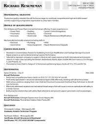 Sample Resume Pharmacy Technician by Elevator Mechanic Resume Resume For Your Job Application