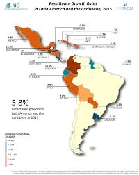 Map Of South America And Caribbean by Inter American Dialogue Latin American U0026 Caribbean Remittances 2015