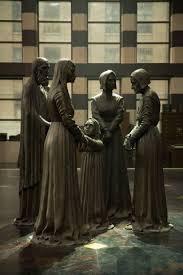 MACUSA Salem Witch Trials memorial statue   Step inside MACUSA with production designer Stuart Craig   Pinterest