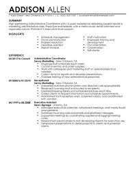 Sample Resume For Admin Assistant by Administrative Resume Awesome Professional Administrative Resume