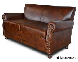 Leather Liverpool Club Bench Sofa Seater Sofa - Sofa club