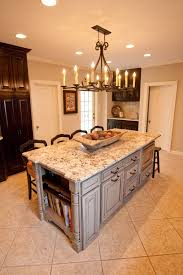 kitchen built in grill triangle kitchen island with seating