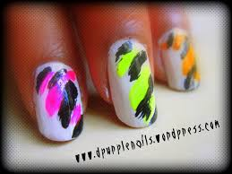 neon nails got a style