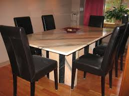 italian marble dining table and chairs with design ideas 2278 zenboa