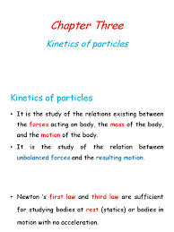 engineering mechanics dynamics kineticsof particle newton u0027s