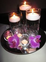 Purple Floating Candles For Centerpieces by 193 Best Candle Centerpiece Images On Pinterest Candles