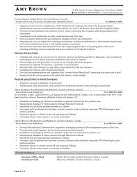 Administrative Secretary Resume Sample by Sample Resume Admin Executive Example Administrative Assistant