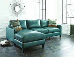 Leather Sofa Chaise by Sofa Turquoise Sofa For Luxury Mid Century Sofas Design Ideas
