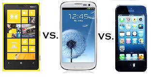 iPhone 5 vs Lumia 920 vs Galaxy S3