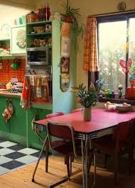 Home Interior Decorating Ideas by Interior Bohemian Style Of Home Interior Design With Retro