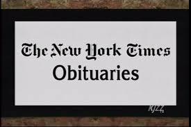 NY Times Obits