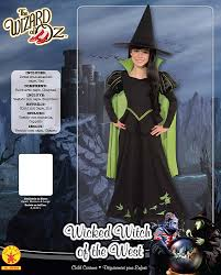 wicked witch of the west costume diy rubie u0027s official child u0027s the wizard of oz the wicked witch of the