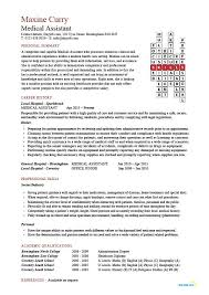 Medical Assistant resume samples  template  examples  CV  cover     Dayjob