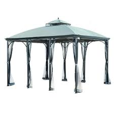 patio gazebos and canopies hampton bay 12 ft x 12 ft harbor gazebo gfs01250a the home depot