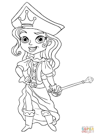 the pirate princess coloring page for pages eson me