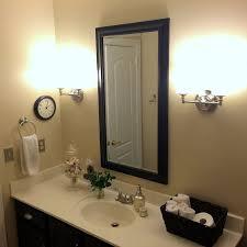 Beige And Black Bathroom Ideas Birds U0026 Butterflies Guest Bathroom Makeover Hometalk