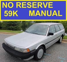 1986 toyota camry manual wagon 2 0 all original must see v20 87