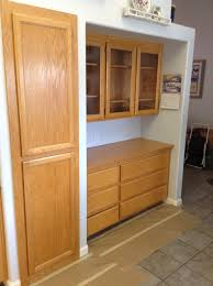 How To Paint Veneer Kitchen Cabinets Refinishing Oak Cabinets The Steps Of Refinishing Kitchen