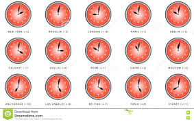 World Time Zones Map by Time Zone World Stock Video Video 70860529