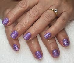 rockstar nails with ibd just gel polish with glitter youtube