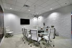 modern conference room table industrial interior design mid century modern vintage office space