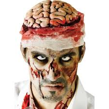 halloween accessories halloween zombie brain with bandage headpiece accessory
