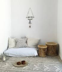 Home Decor And Interior Design by Boho Decor Home Chill Out Interior Design Floor Cushions