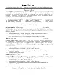 Customer Service Experience Resume Resume Sous Chef Resume For Your Job Application