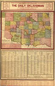 Oklahoma City Map Doug Dawgz Blog 1905 Oklahoma Map U0026 Gazetter