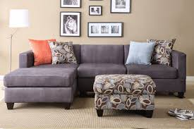 Small L Shaped Sofa Bed by Furniture Cream Velvet Sectional Sofa With Chaise And Dark Brown