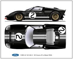 ford gt40 mk i jacky ickx le mans 1969 winner 24 hours of le