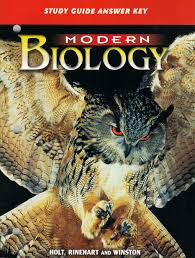 modern biology study guide answer key winston holt rinehart