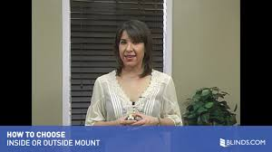 inside mount or outside mount how to choose your window covering