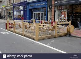 Outdoor Seating by Outdoor Seating For Costa U0027s Cafe Outside Waterstones George