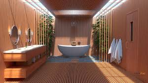idee deco oriental salle de bain zen bambou